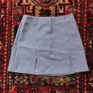 Vtg 90s Black gingham mini skirt 🌻